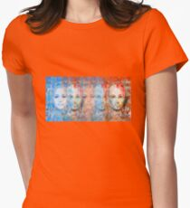 The passage fragment - phases and frequencies Womens Fitted T-Shirt