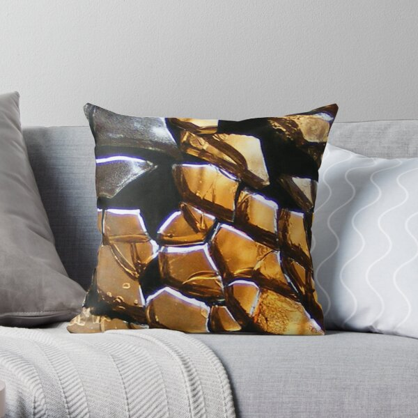 Element Earth - Through The Looking Glass Throw Pillow