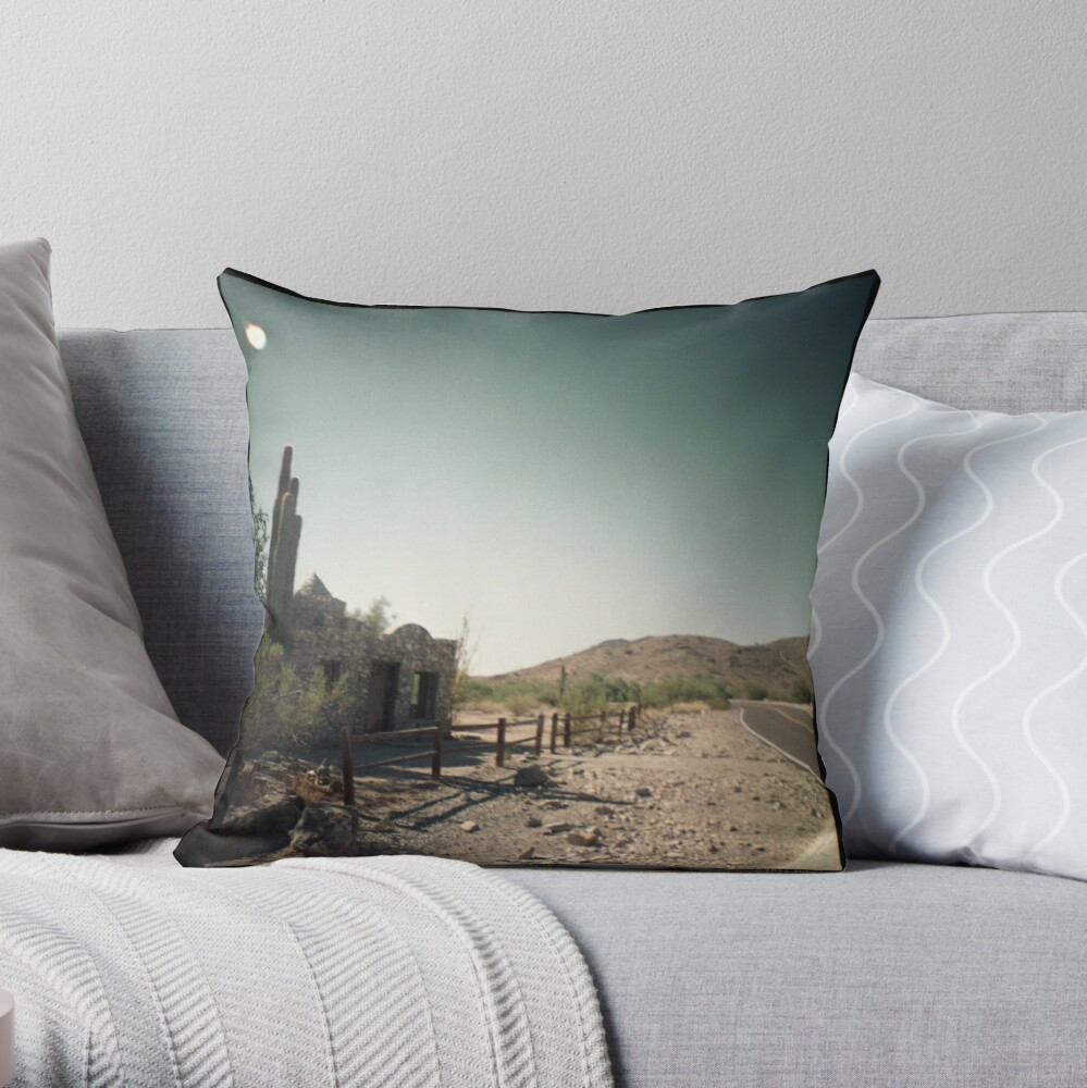 Seven Seconds to Impact Throw Pillow