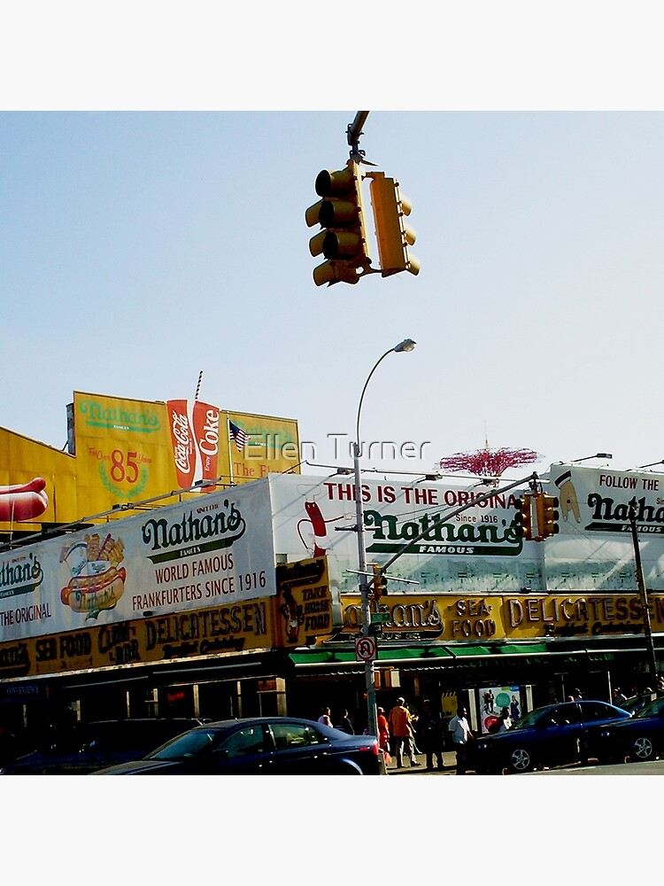 nathan's coney island  by ekturner