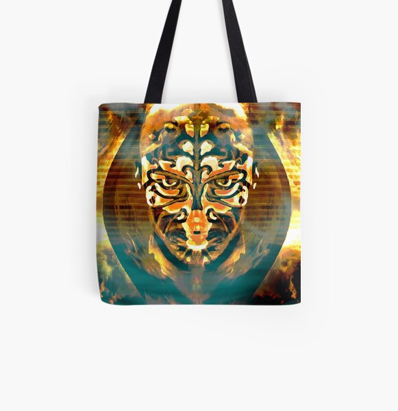 The Burning Man All Over Print Tote Bag