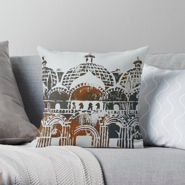 Doge's Palace - Venice, Italy Throw Pillow