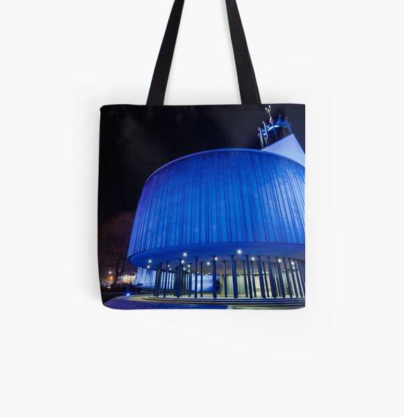 Newcastle Civic Centre All Over Print Tote Bag