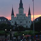 New Orleans at Sunset by Heather Webster
