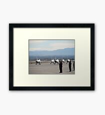 Nellis Air Force Base Framed Print