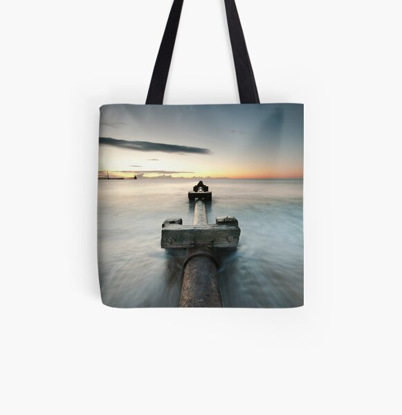 Pipe All Over Print Tote Bag