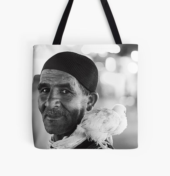 The Birder All Over Print Tote Bag