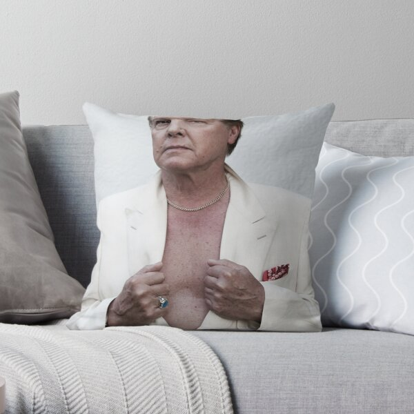 Jess Conrad - Actor, Singer, Showman. Throw Pillow