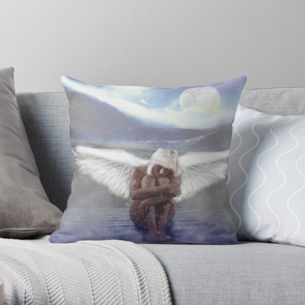The Silence of Being Throw Pillow