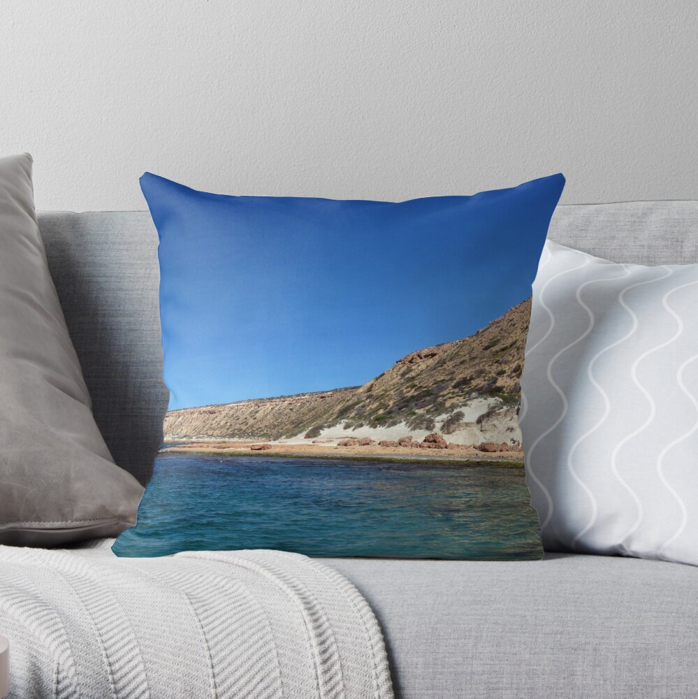 Cape Inscription Throw Pillow