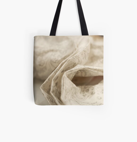 Material Witness All Over Print Tote Bag