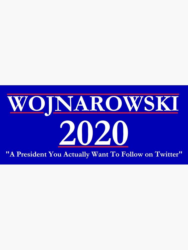 Adrian Wojnarowski 2020 NBA Campaign Sign by greilly16