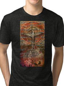 The hurting hidden moon Tri-blend T-Shirt