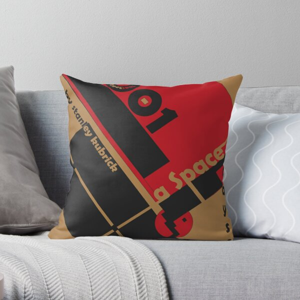 Bauhaus Poster  Throw Pillow