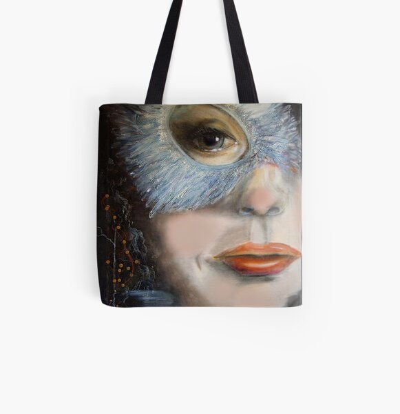 Carnival with a cold   Allover-Print Tote Bag