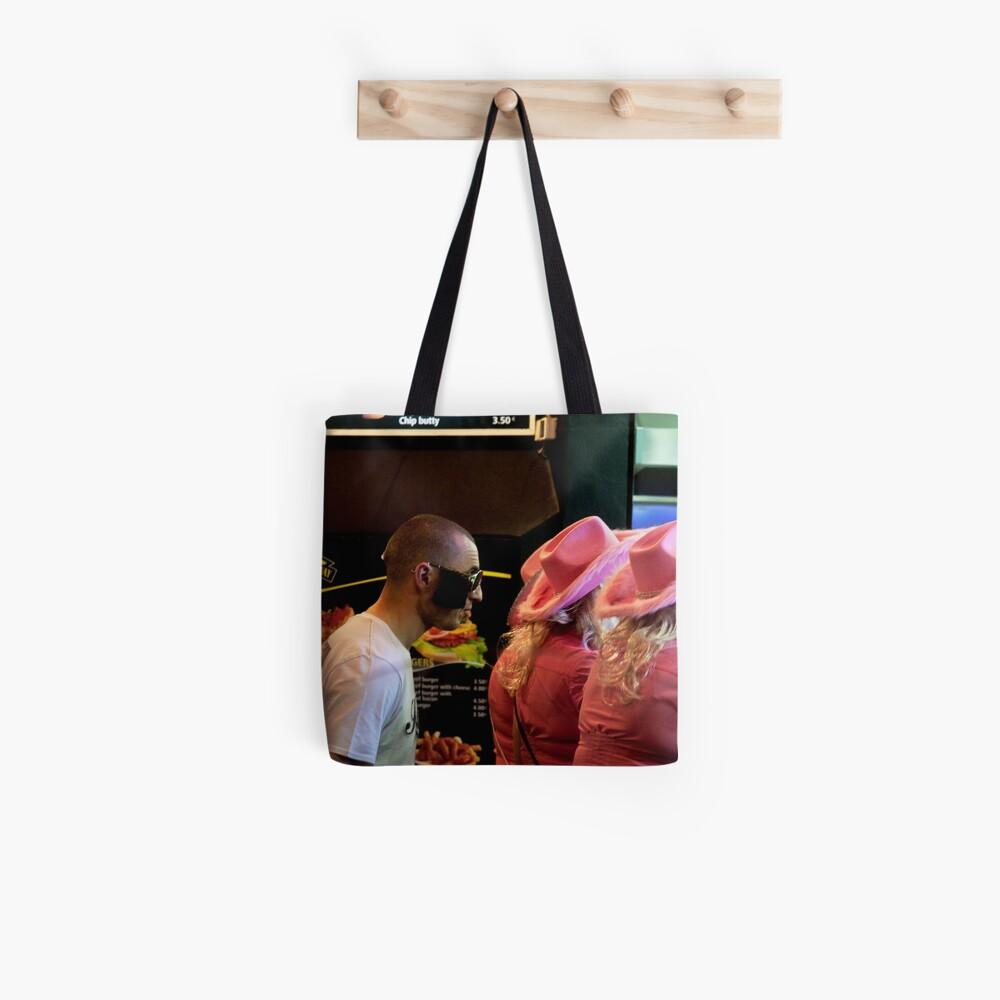 Chips & Burger or Chips & Kebab? Tote Bag