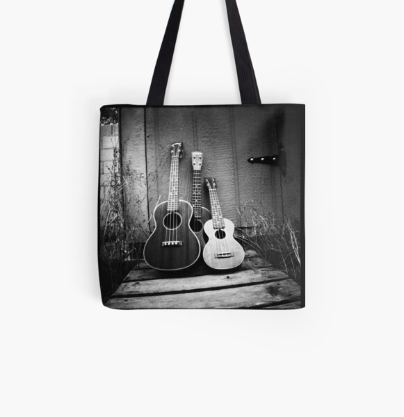 Family Portrait All Over Print Tote Bag