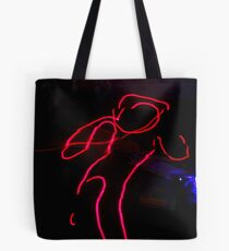 Playing with Light Tote Bag