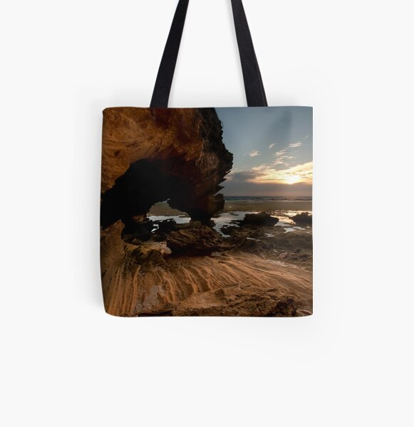 Mornington Peninsula All Over Print Tote Bag