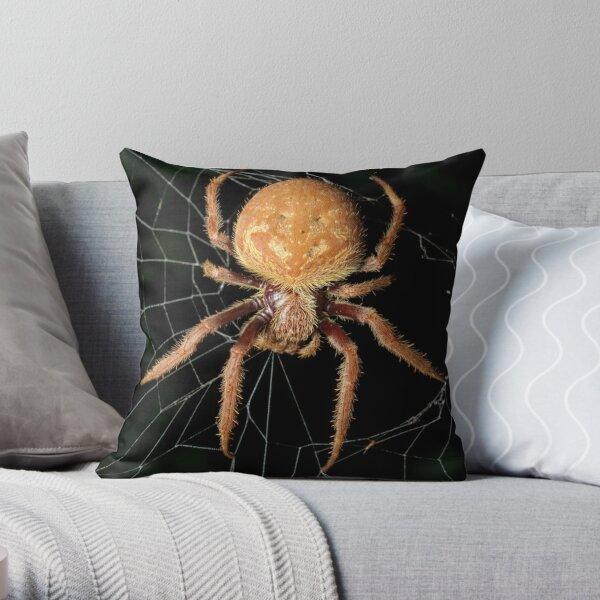 Garden Orb-Weaver Throw Pillow
