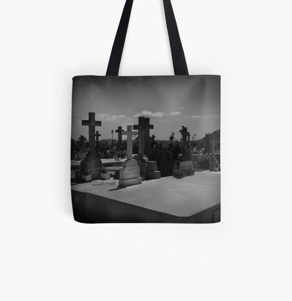 Spanish Graveyard All Over Print Tote Bag