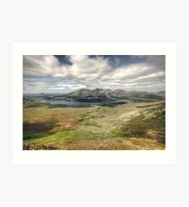 Lough Inagh Valley Art Print