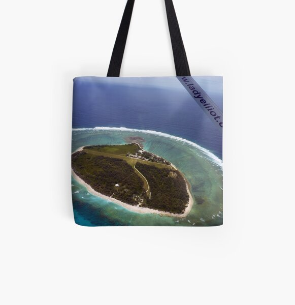 Above Lady Elliot Island All Over Print Tote Bag