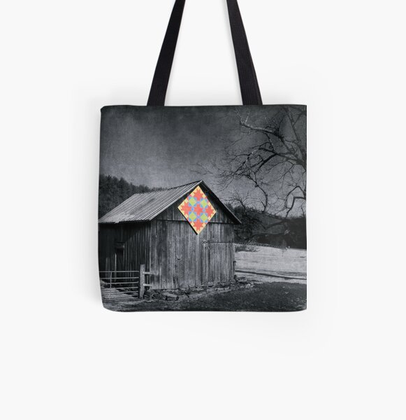Somewhat Optimistic All Over Print Tote Bag