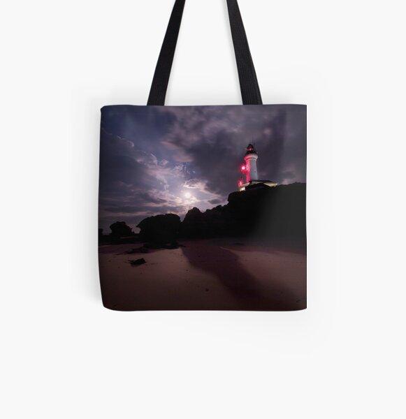 Moon Shadows All Over Print Tote Bag