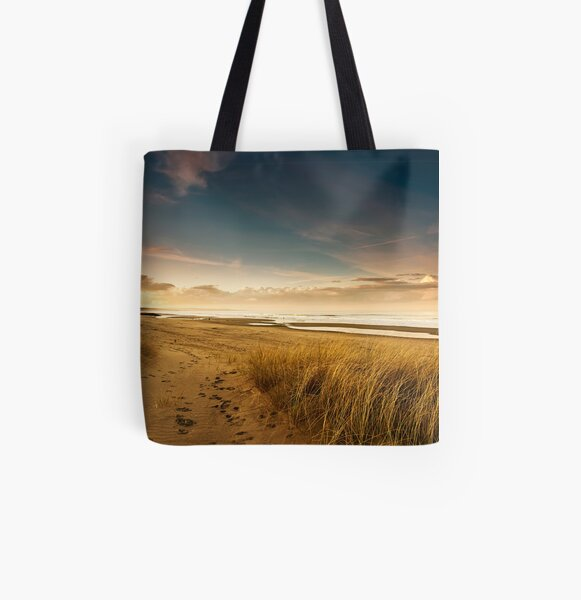 Dunes All Over Print Tote Bag