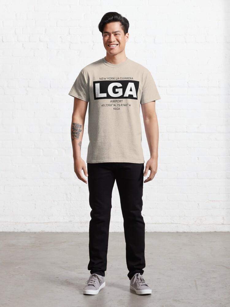 Alternate view of New York La Guardia Airport LGA Classic T-Shirt