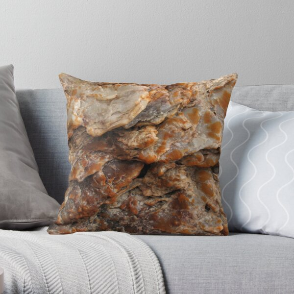 Fracture Zone Throw Pillow