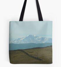 Pikes Peak ..headed south Tote Bag