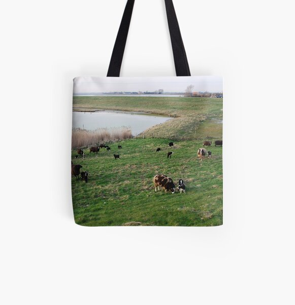 Spring is in the air.... All Over Print Tote Bag
