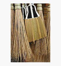 broom Photographic Print