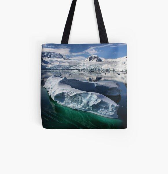 Beautiful Antarctica All Over Print Tote Bag