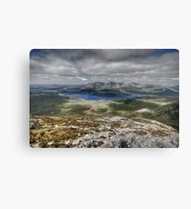 Lough Inagh Valley view Canvas Print