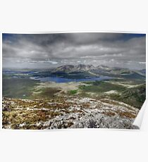 Lough Inagh Valley view Poster