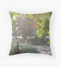 """Picnic  with nature-Baldwin swamp in Bundaberg"" Throw Pillow"