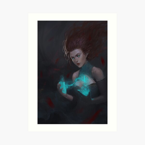 Touch of Magic Art Print