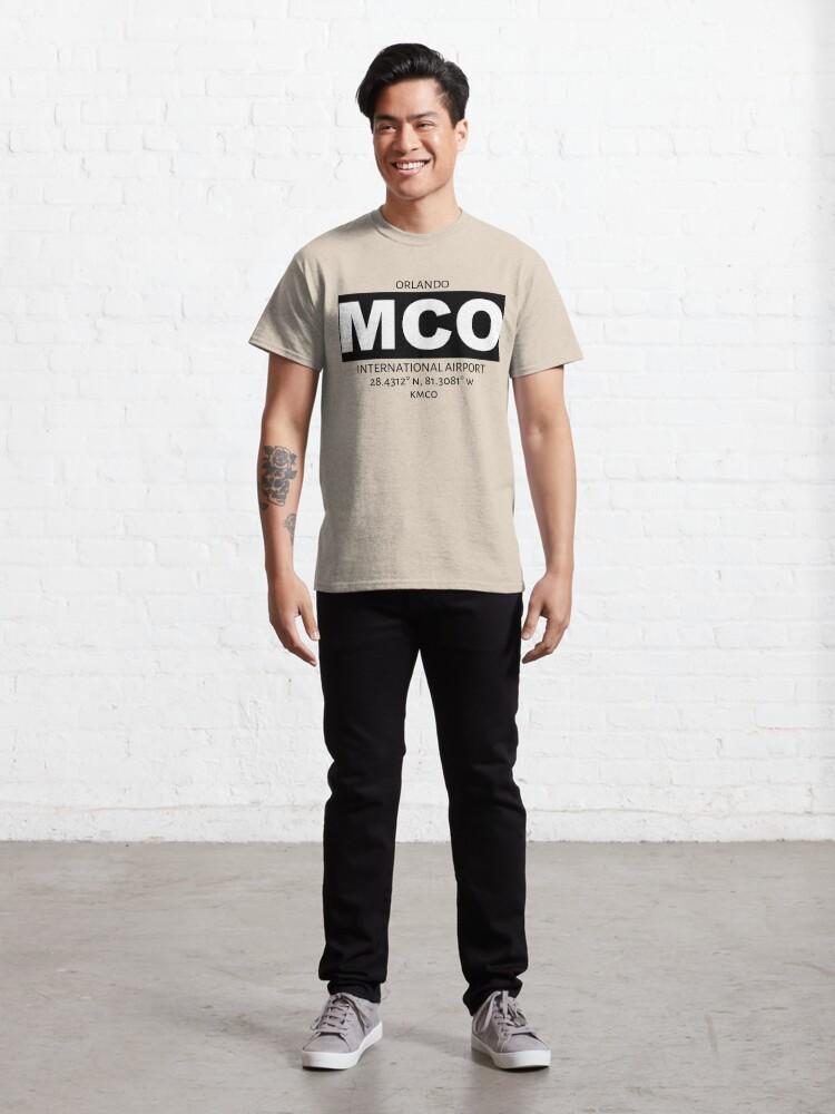 Alternate view of Orlando International Airport MCO Classic T-Shirt