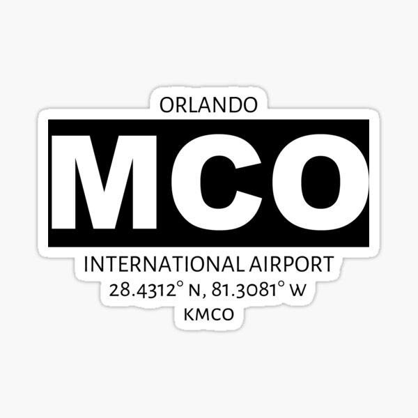 Orlando International Airport MCO Sticker