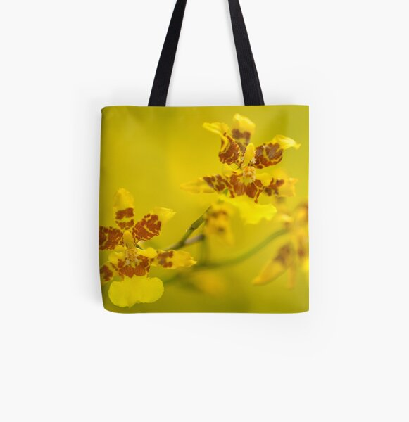 Oncidium sphacelatum All Over Print Tote Bag
