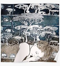 """Dreaming of Life"" Aquatint Etching Poster"