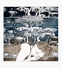 """Dreaming of Life"" Aquatint Etching Photographic Print"