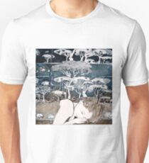 """Dreaming of Life"" Aquatint Etching Unisex T-Shirt"