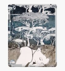 """Dreaming of Life"" Aquatint Etching iPad Case/Skin"