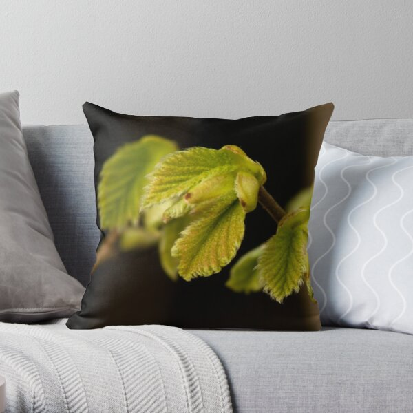 Quiet outburst of new life Throw Pillow