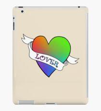 Lover's Heart (Beige) iPad Case/Skin