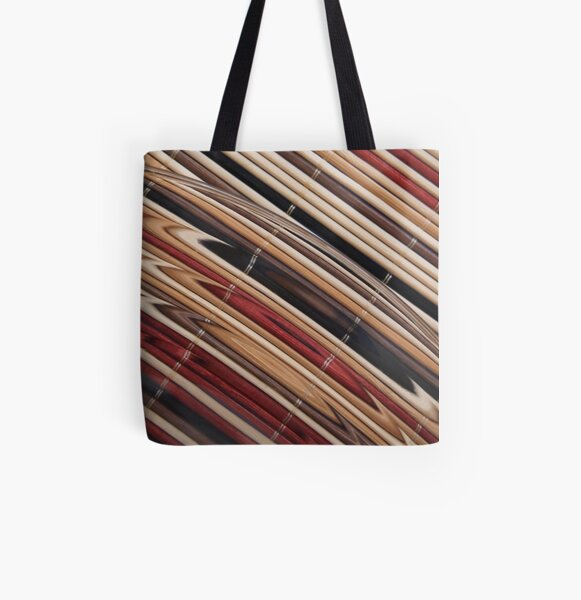 STRAWARTS All Over Print Tote Bag
